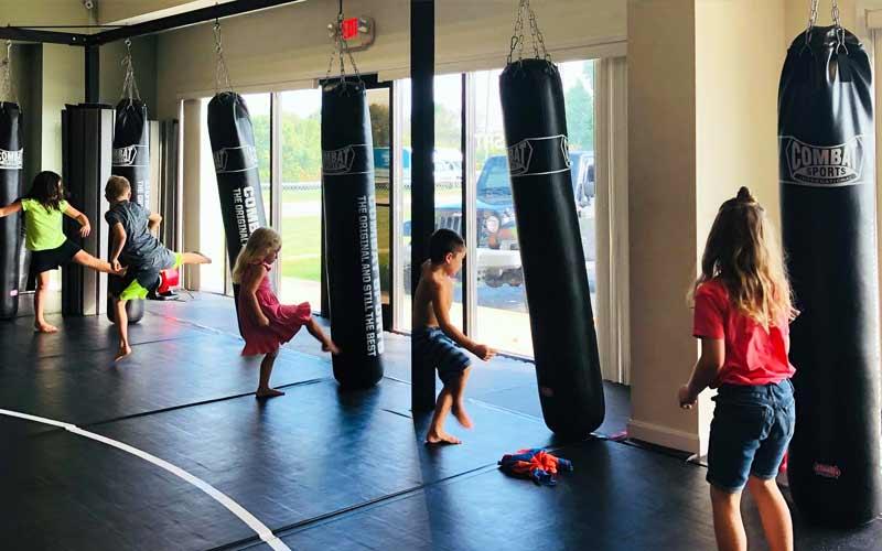 Combat MMA at Triple Crown KidFit
